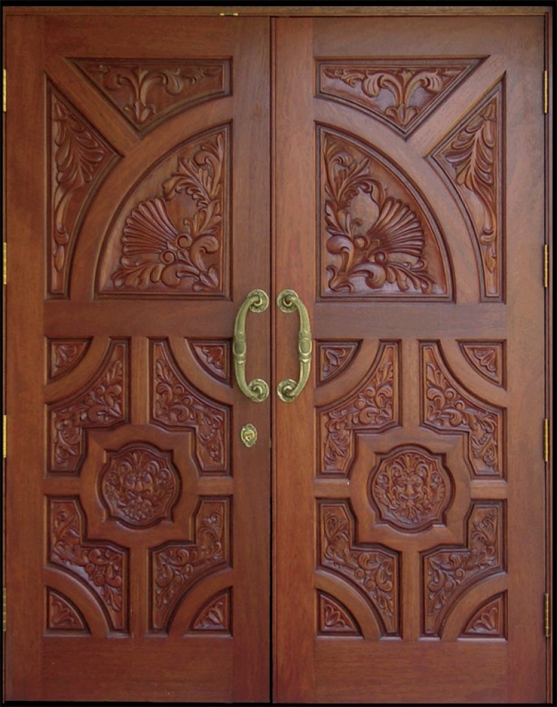 CARVING WOOD DOORS